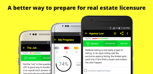 ★★★★★ #1 Real Estate exam prep with 550+ exam-like practice questions & quizzes