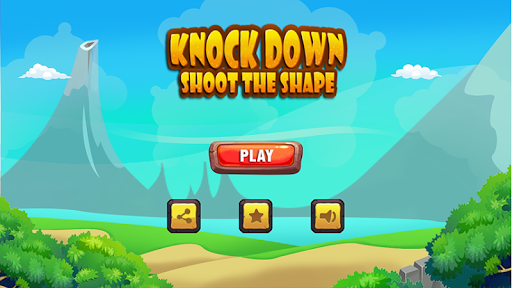 Knock Down: Shoot the shape - screenshot