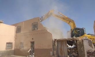 Últimas demoliciones en Barrio Alto antes de reurbanizar