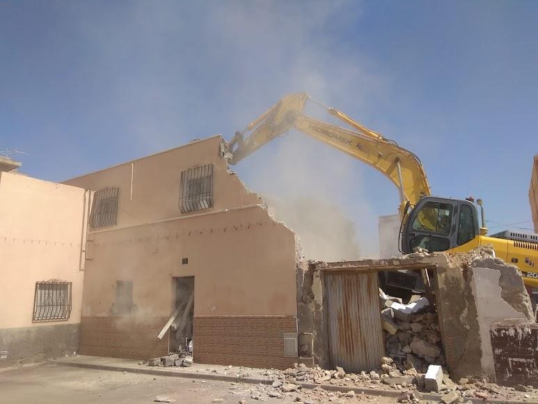 Demoliciones en marcha