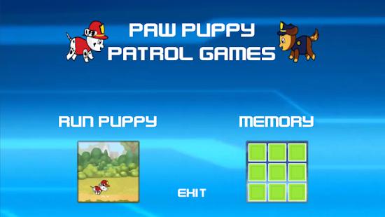 patrulla canina games - náhled