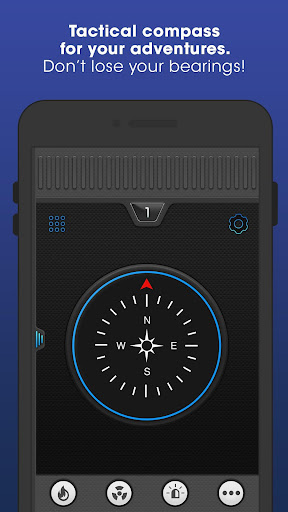 Flashlight Compass with Sounds screenshot 3