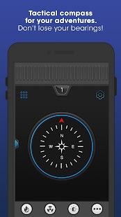 Flashlight Compass with Sounds - náhled