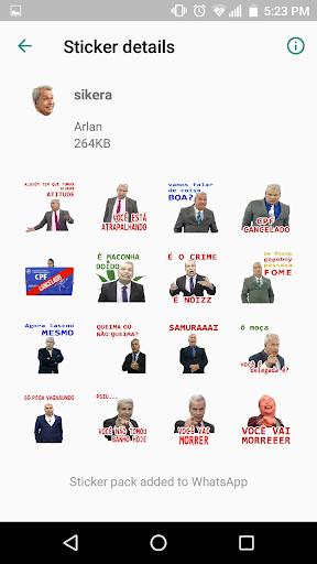 Sikera Figurinhas para Whatsapp screenshots 2