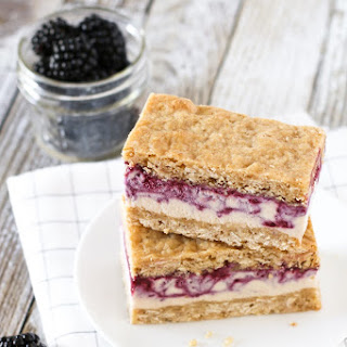 Vegan Blackberry Crisp Ice Cream Sandwiches