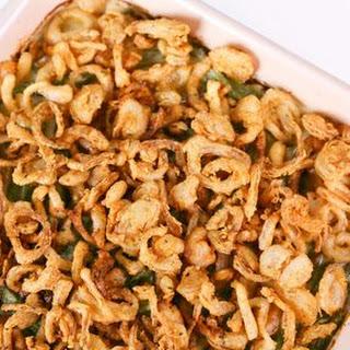 Carla Hall's Crispy Shallot Green Bean Casserole