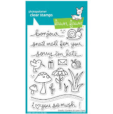 Lawn Fawn Clear Stamps 4X6 - Gleeful Gardens