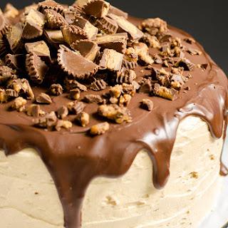Peanut Butter Bourbon Chocolate Cake.