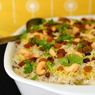 Vegetable Biryani Rice.