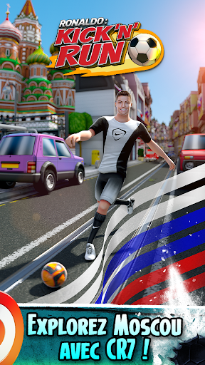 Cristiano Ronaldo: Kick'n'Run – Football Runner  captures d'écran 1