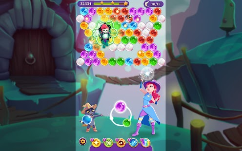 Bubble Witch 3 Saga Screenshot