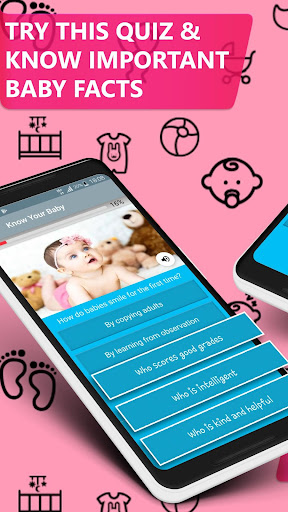 50 Baby & Infant Care Quiz; for new Parents 2.2 screenshots 1