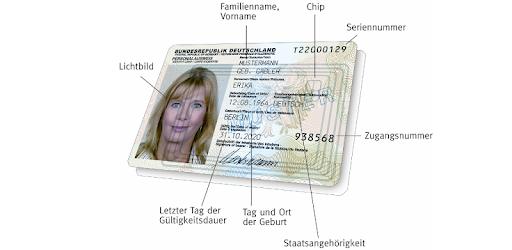 Chip Im Ausweis