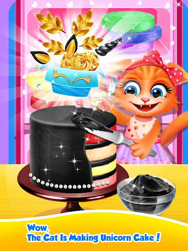 Unicorn Food - Sweet Rainbow Cake Desserts Bakery 2.7 screenshots 7