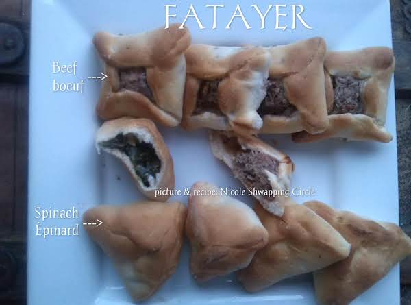 Beef Fatayer