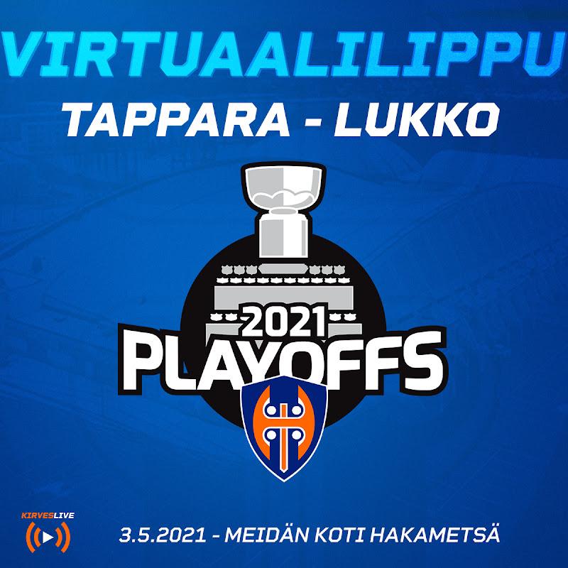 Tappara – Lukko 03.05.2021 virtuaalilippu