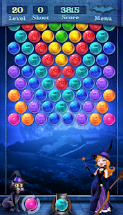 Magic Witch Bubble Shooter - náhled