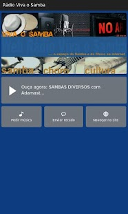 Rádio Viva o Samba- screenshot thumbnail