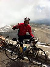 Photo: I did it. En haut du Mont Ventoux.