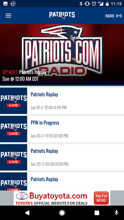 New England Patriots- screenshot