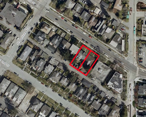 15 Townhouse Units Pitched for Moodyville Site