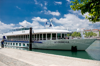 Photo: Our ship, the MS Maribelle.  Photo by Dr. Steve Fadem.