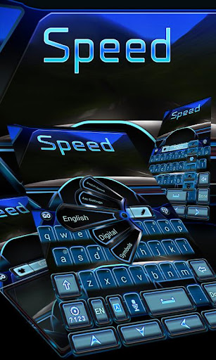 Go Keyboard Speed Theme