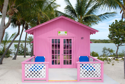 princess-cays-bungalow.jpg - One of the cute, private air-conditioned bungalows at Princess Cays in the Bahamas.