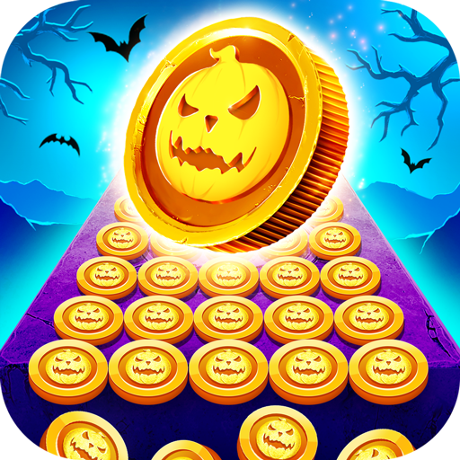 Coin Pusher Halloween Night - Haunted House Casino