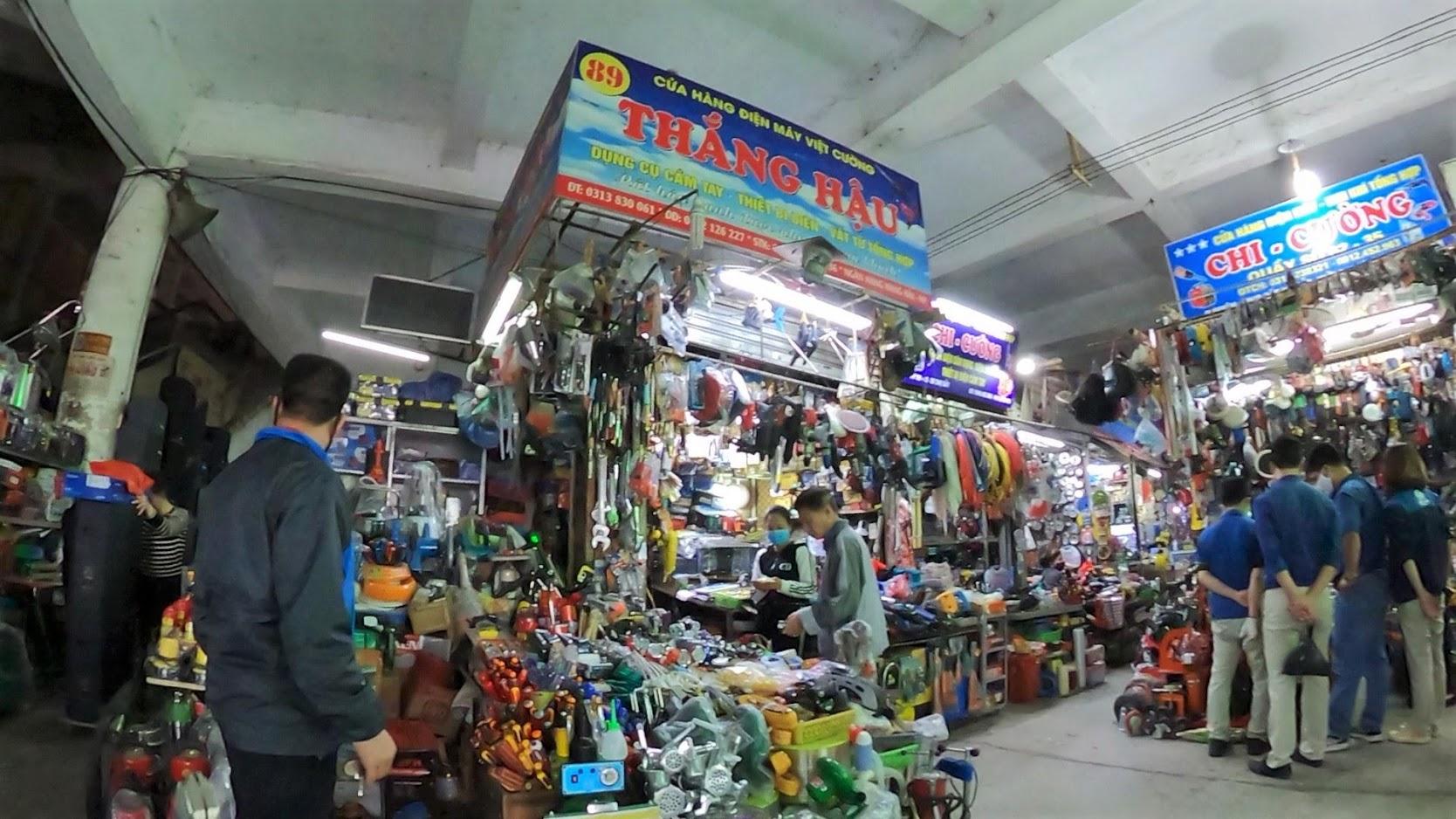 Những khu phố chợ Sắt ở Hải Phòng năm 2020 3