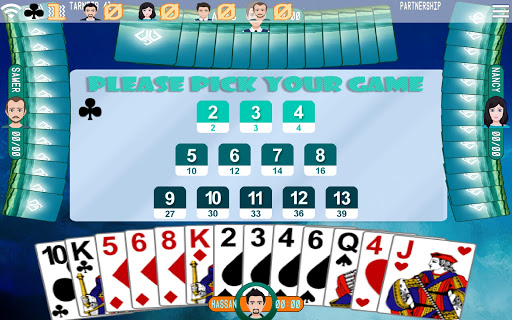 Golden Card Games (Tarneeb - Trix - Solitaire) 20.0.9.24 Screenshots 4