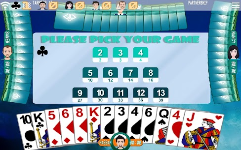 Golden Card Games (Tarneeb – Trix – Solitaire) 4