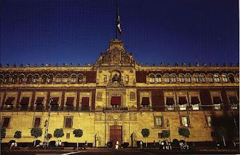 Photo: 1B080015_Meksyk - Ciudad de Mexico - Pałac Narodowy na Zocalo