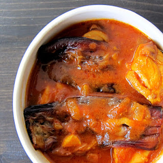 Chicken and Eggplant Stew.