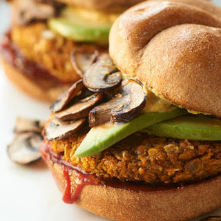Po-Lentil Curry Burger