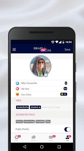 Israel Social - Dating Chat App Screenshots 3
