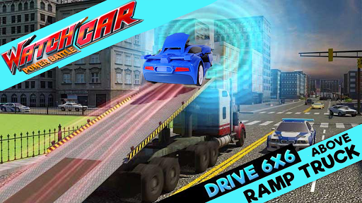 Racing Adventure Watch Car Jino Power Battle  screenshots 2