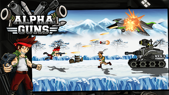 Alpha Guns Shooter :Metal Soldier -Killer Gun Game - náhled