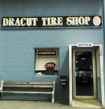 Photo: Dracut Tire Shop in Dracut, MA proudly displaying their BBB Accreditation