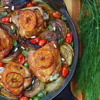 Mediterranean Orange-Fennel Chicken