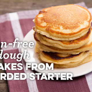Gluten-Free Sourdough Pancakes From Discarded Starter Recipe