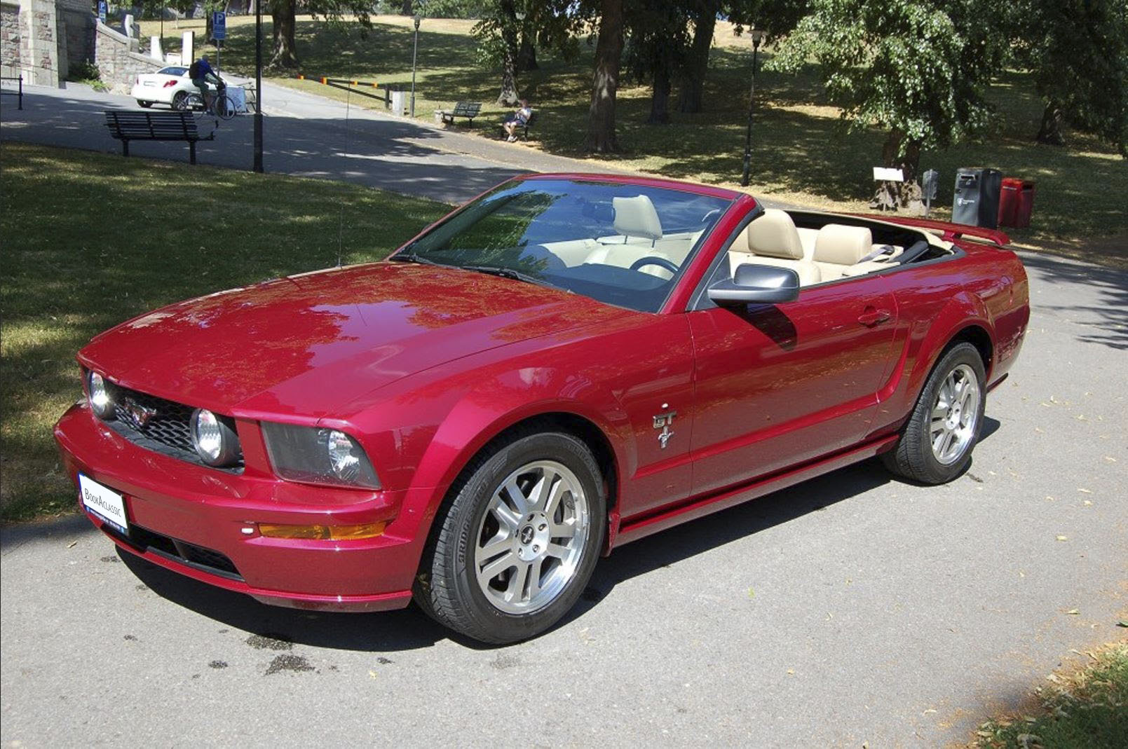 Ford Mustang Hire Valbo