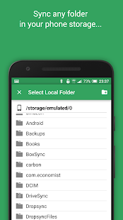 Autosync Google Drive Screenshot