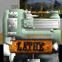 Lathe Worker: 3D Machine Simulator icon