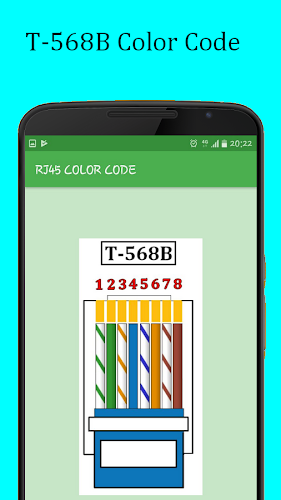 RJ45 Color Code Cable Wiring on Google Play Reviews | Stats
