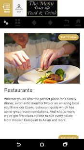 Essex Life - The Menu- screenshot thumbnail