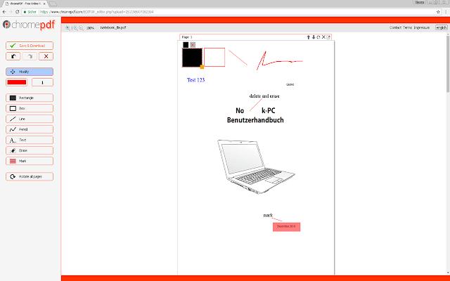 chromePDF | PDF Online Editor
