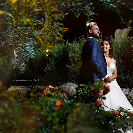 Wedding photographer Eduardo de Vincenzi (devincenzi). Photo of 04.09.2017