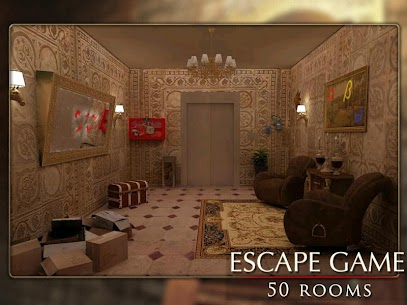 Escape Game: 50 rooms 1 Mod Apk (Unlimited Hints) 10