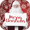 Christmas Frames & Stickers Create New Year Cards icon